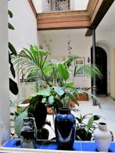 El patio./ Foto J.M.
