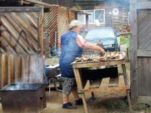 Aumando el omul, el pez preferido en el Baikal./ Foto J.M.
