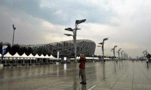 Estado olímpico de Pekin, conocido como El Nido./ Foto J.M.