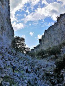 En el fondo del Salto del Cabrero, Sierra de Grazalema, Cádiz./ Foto Joaquín Mayordomo