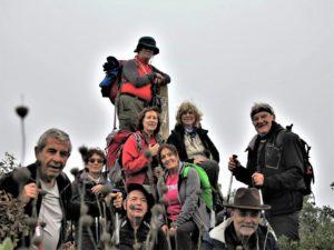 Correkas en la cumbre del derro de la Era./ Foto J.M.