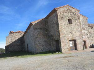 Monassterio de Sta. María de Tentudía./ Foto J. Mayordomo