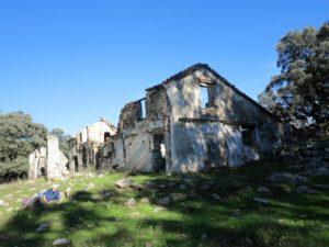Ruinas de la Casa de las Zuardas./ Foto J.M