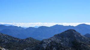 Cresteando por las cumbres el espíritu se amansa y uno siente que es naturaleza también./ Foto J.M.