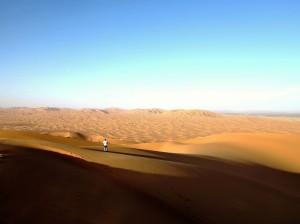007. Dunas en el desierto de Merzuga.
