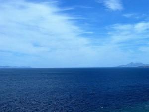 014. Estrecho de Gibraltar visto desde la costa de Tánger