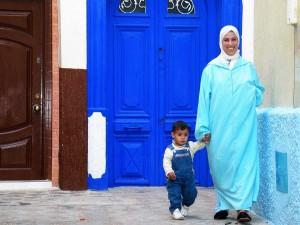015. Madre con niña, Ashilah