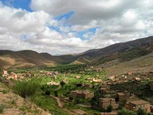 016. Camino de Tafraute, en el antiatlas, Marruecos.