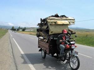 017. Por las carreteras del Rif, Marruecos.