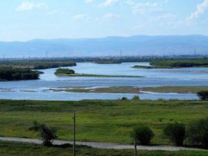 El río Solingá, que desemboca en el lago Baikal./ Foto J.M.