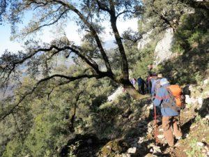 El descenso./ Foto J.M.