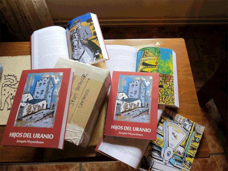 libro Hijos del Uranio