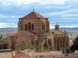 Vista general (poco conocida) de la iglesia de los Dominicos, Salamanca./ Foto J. Mayordomo